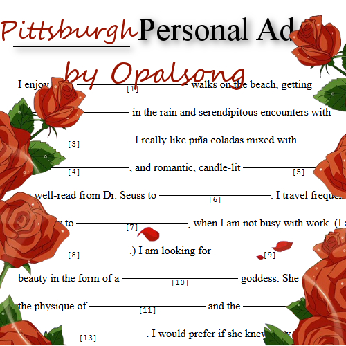 pittsburgh personal ads